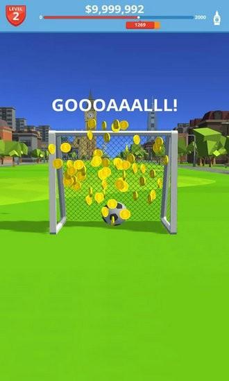 飞翔的足球无限金币版