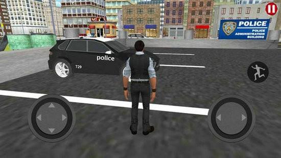 乡村警车巡查模拟手机版下载
