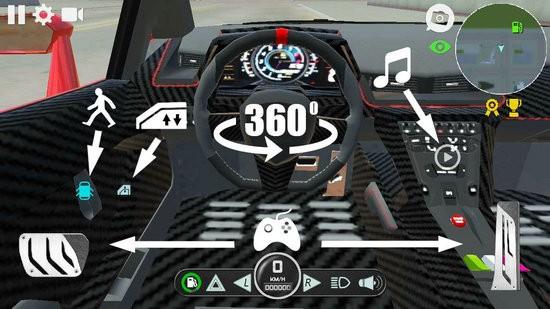 兰博汽车模拟器游戏下载破解版