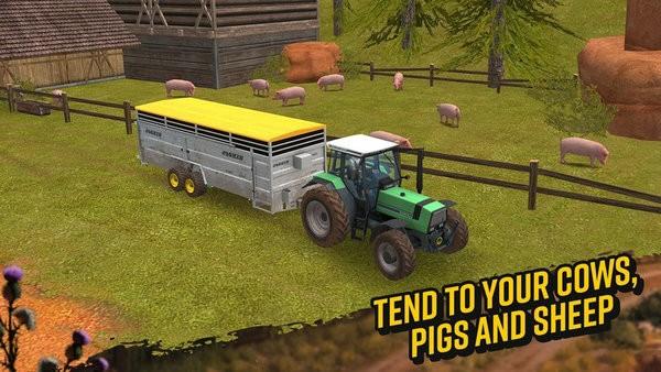 模拟农场18无限金币版