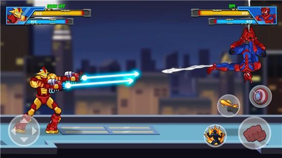 机器人超级英雄游戏破解版下载