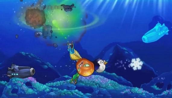 愤怒的章鱼破解版无限金币无限贝壳