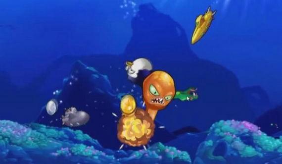 愤怒的章鱼破解版无限金币版下载