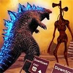怪物粉碎城市