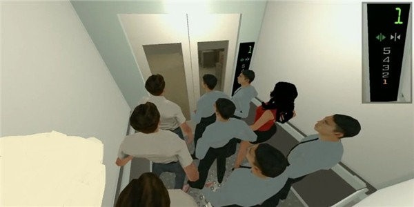 电梯模拟器3d
