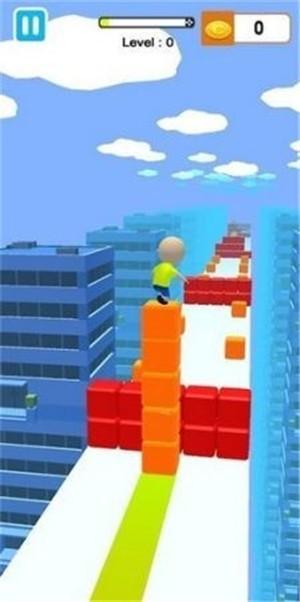 果冻块冲浪3D无限金币版下载
