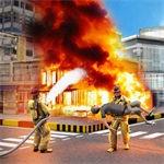 消防员救火模拟器